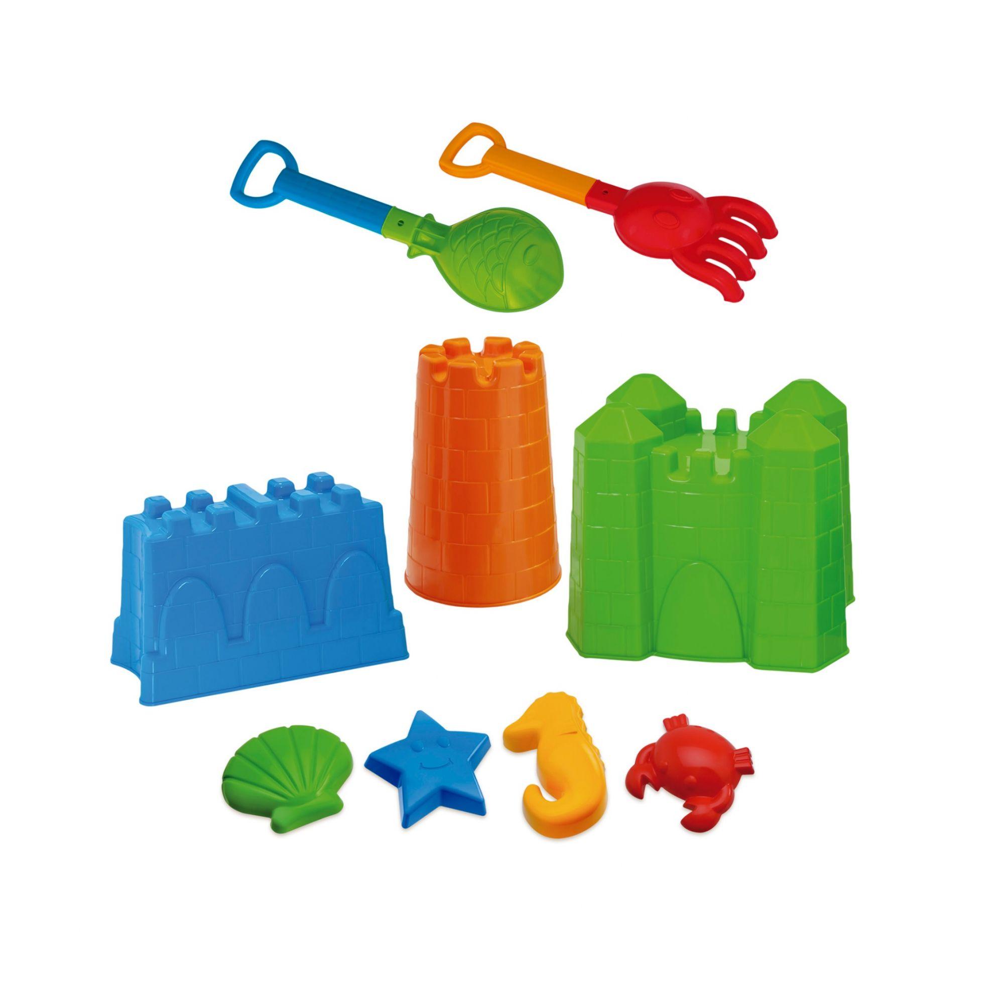 Castelo Completo Beach Play Sortidos - Usual Brinquedos