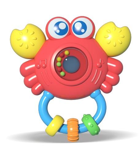 Chocalho Amiguinho do Mar Sirizinho com Luz e Som - Zoop Toys