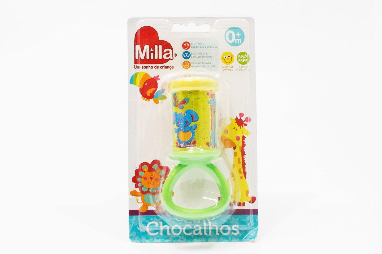 Chocalho Cilindro Sortidos - Milla