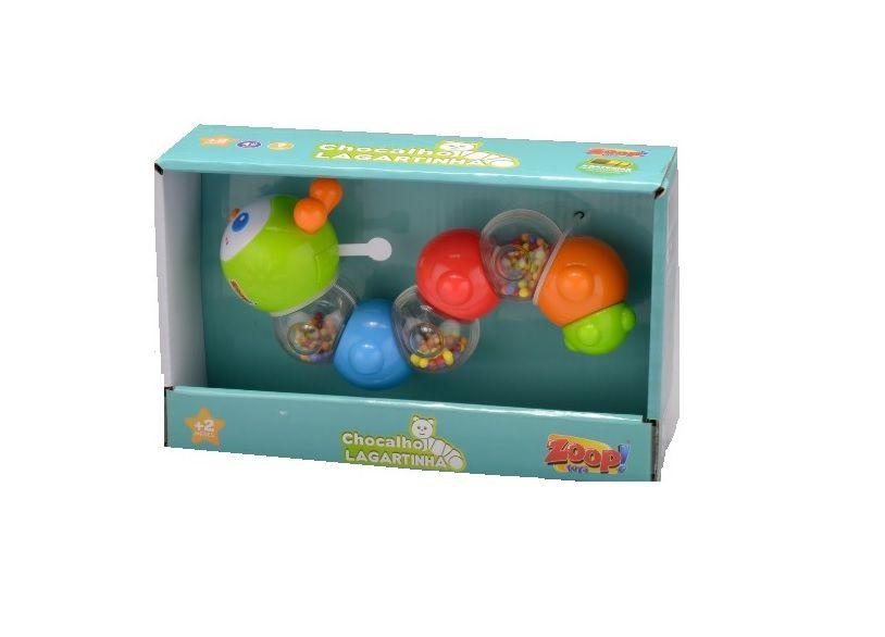 Chocalho Lagartinha com Luz - Zoop Toys