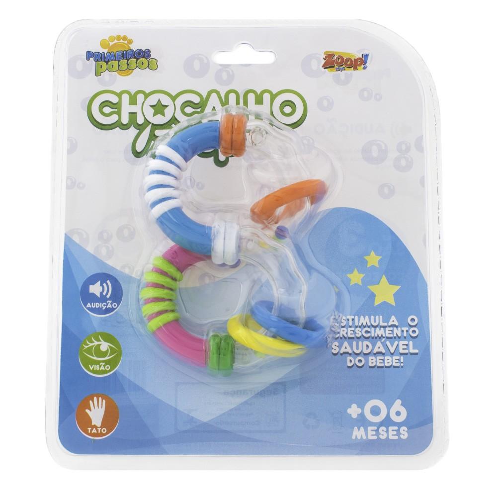 Chocalho Zoop Primeiros Passos com Argolas - Zoop Toys