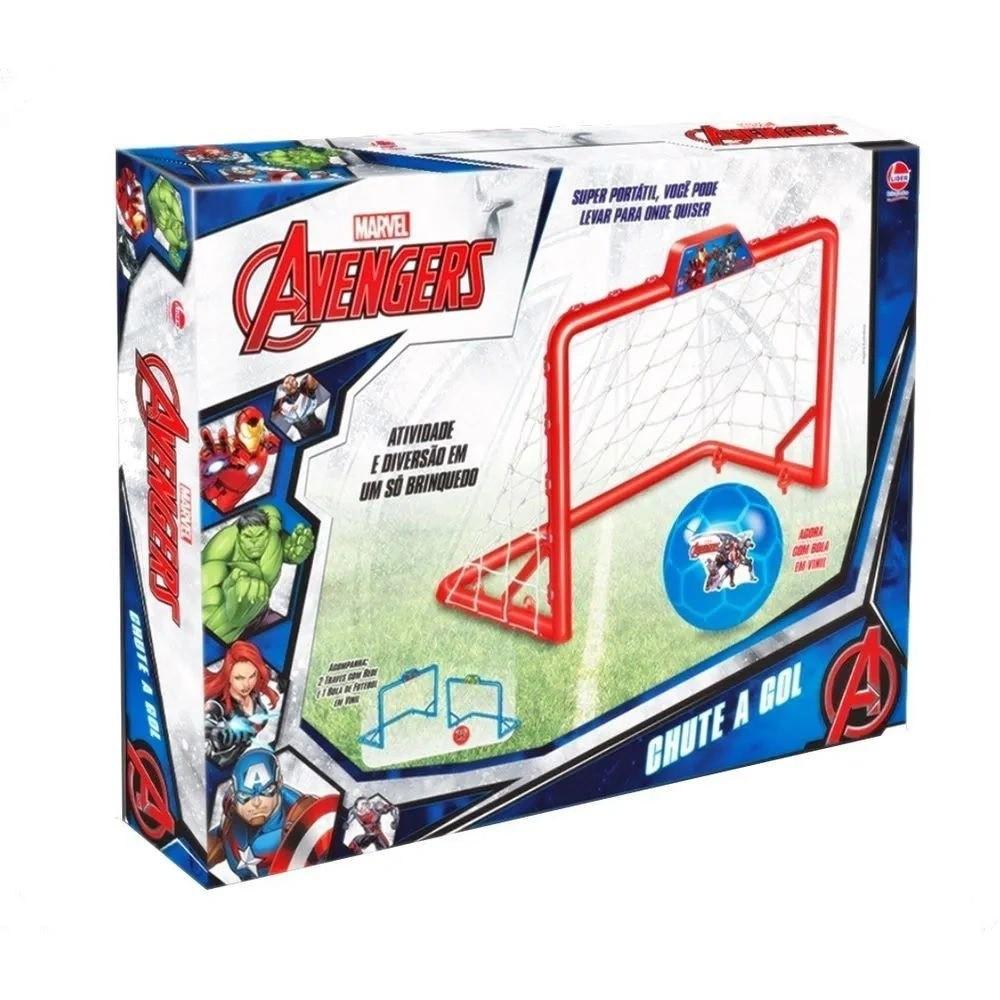 Chute a Gol Marvel Avengers Sortidos - Lider Brinquedos