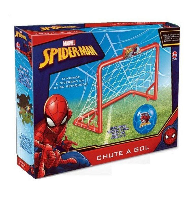 Chute a Gol Marvel Homem Aranha - Lider Brinquedos