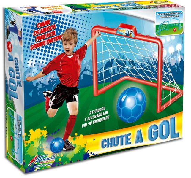 Chute a Gol Sortidos - Apolo Brinquedos