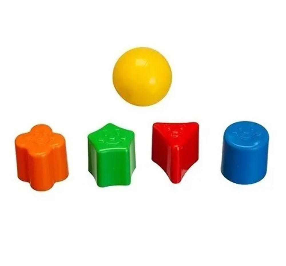 Cogumelo Didático Tchuco Baby Sortidos - Samba Toys