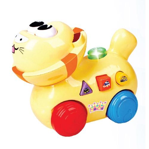 Bate e Volta Leãozinho Musical - Zoop Toys