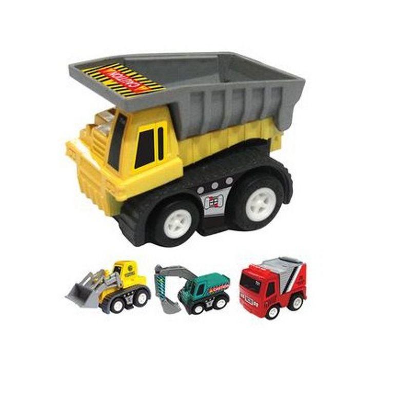 Coleção Caminhão de Construção Sortidos - Zoop Toys