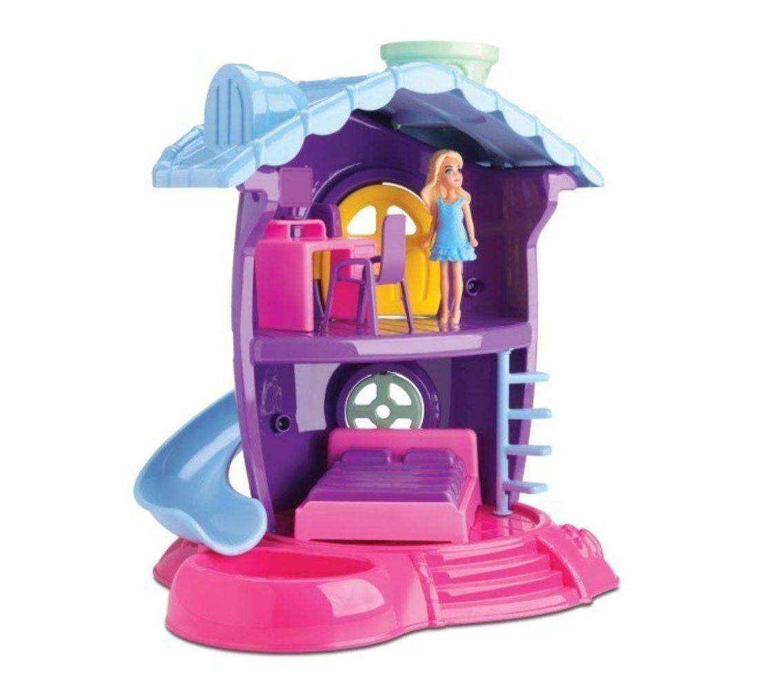 Coleção Judy Casinha de Boneca Quartinho Sortidos - Samba Toys