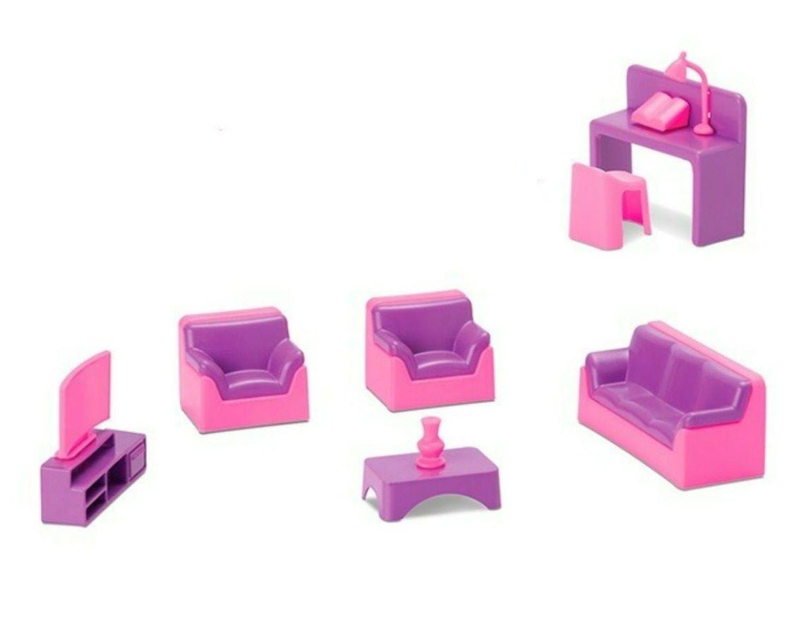 Coleção Judy Home Salinha de TV - Samba Toys