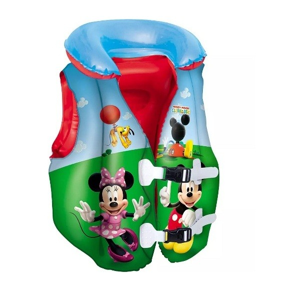 Colete Disney Mickey Mouse Clubhouse Inflável - Bestway