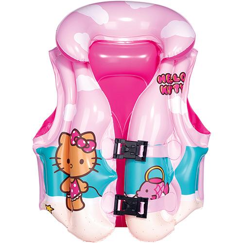 Colete Inflável Infantil Hello Kitty Rosa - Braskit