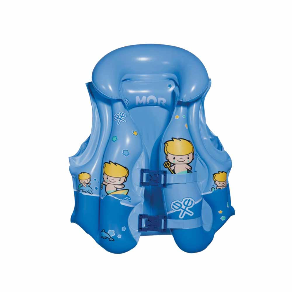 Colete Inflável Infantil Premium Atlantis Azul - MOR