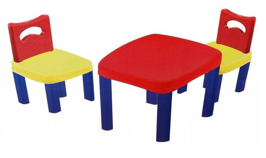 Conjunto de Mesa Super Atividades com 2 Cadeiras - Simo Toys