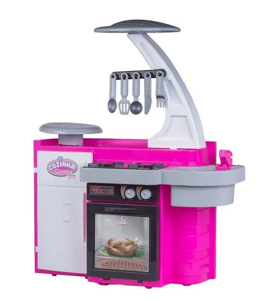 Cozinha Classic Rosa - Cotiplás