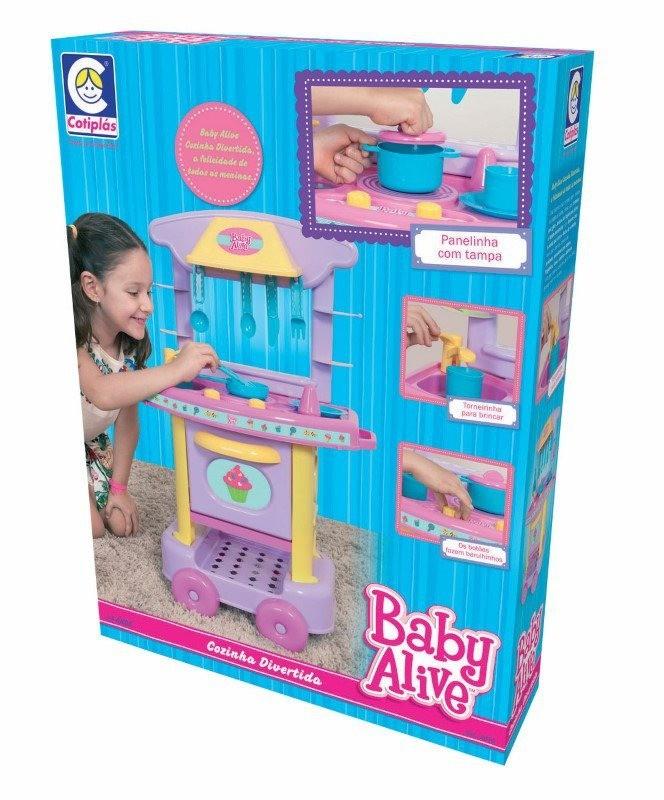 Cozinha Divertida Baby Alive - Cotiplás