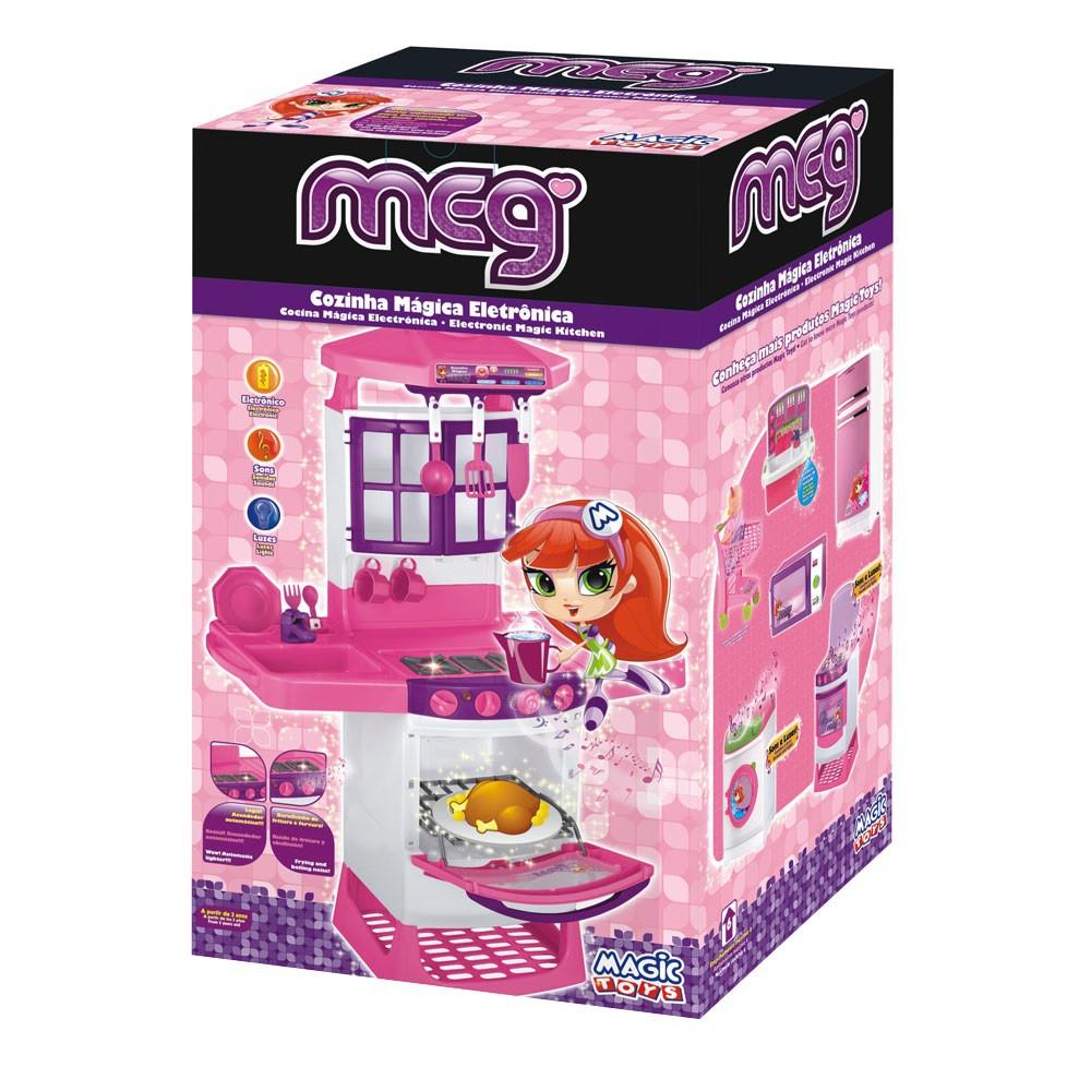 Cozinha Mágica Eletrônica Meg com Luz e Som - Magic Toys