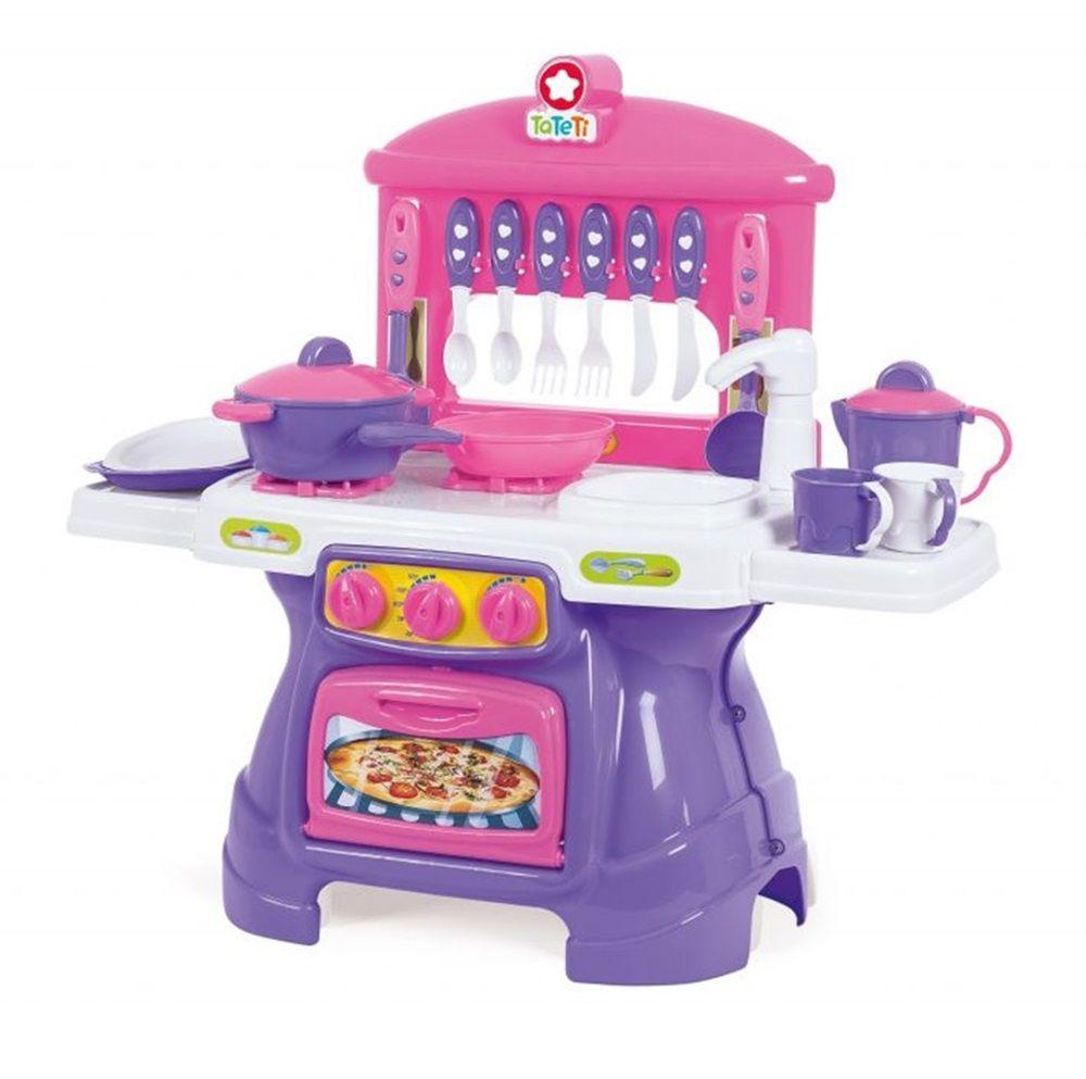 Cozinha Mini Chef Rosa com Água - Ta Te Ti