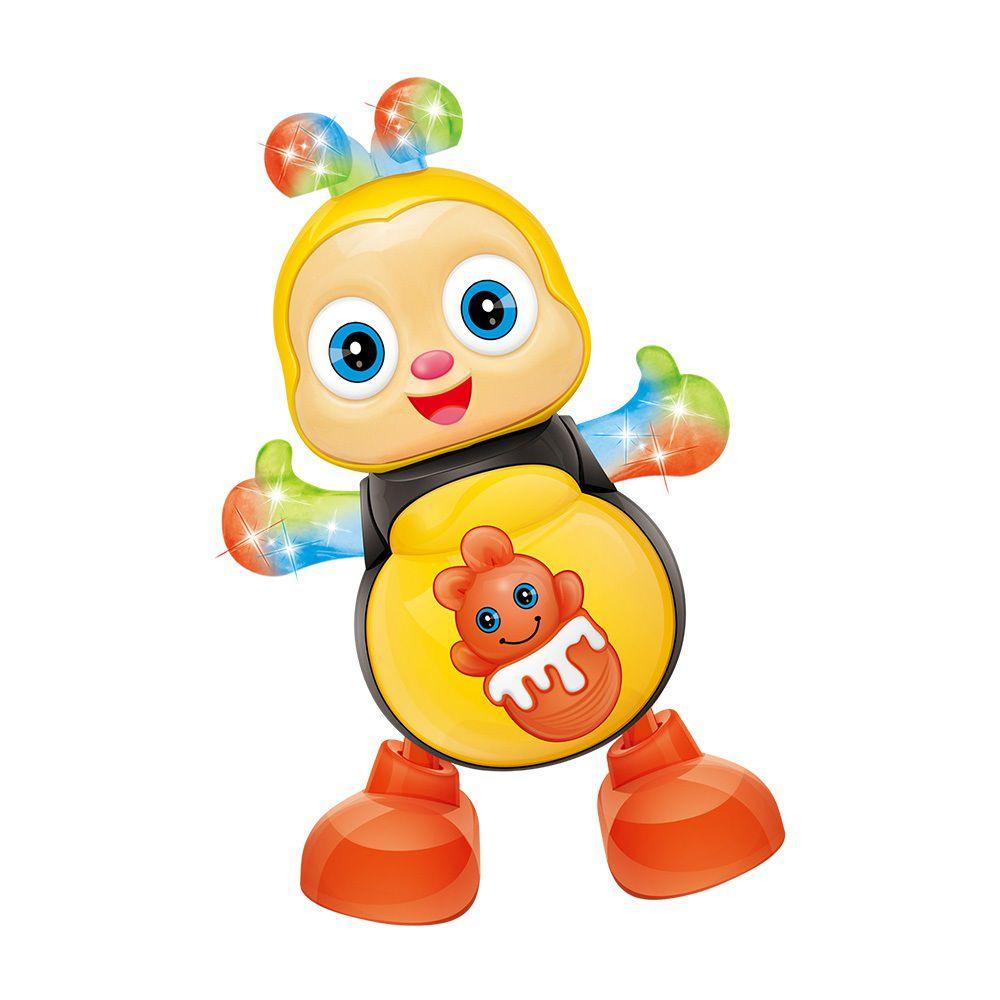 Abelha Dançarina com Luz e Som - DM Toys