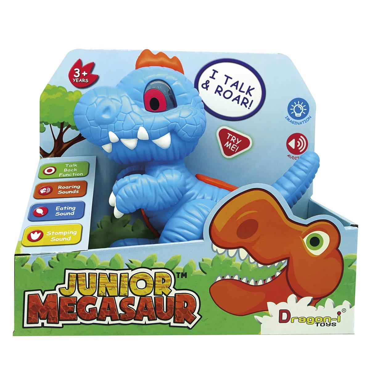Dino Interativo Junior Megasaur - FUN