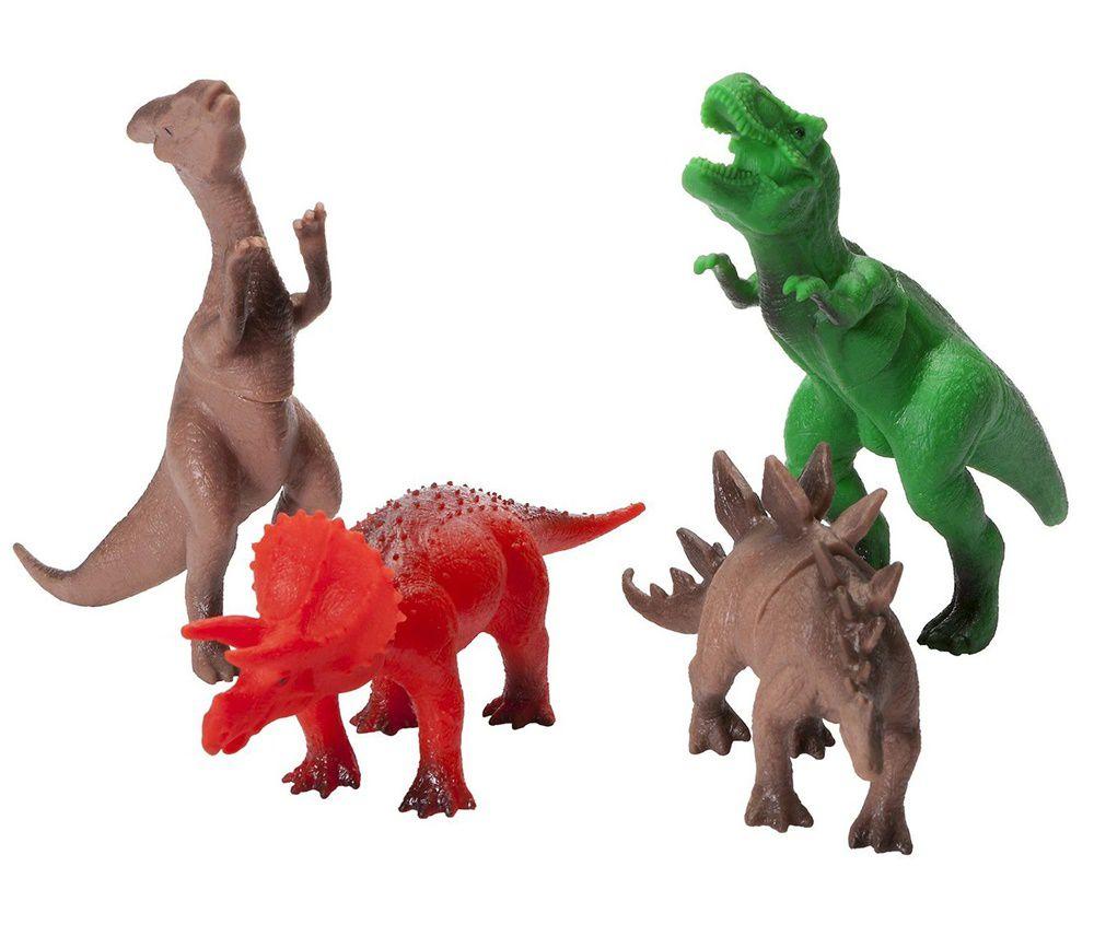 Dinossauro Amigo com 4 Dinossauros Sortidos - Super Toys