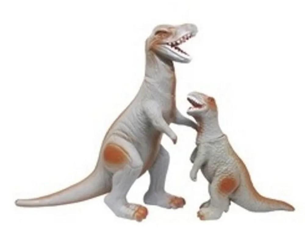 Dinossauro Dinopark Tiranossauro Rex com Filhote - Bee Toys