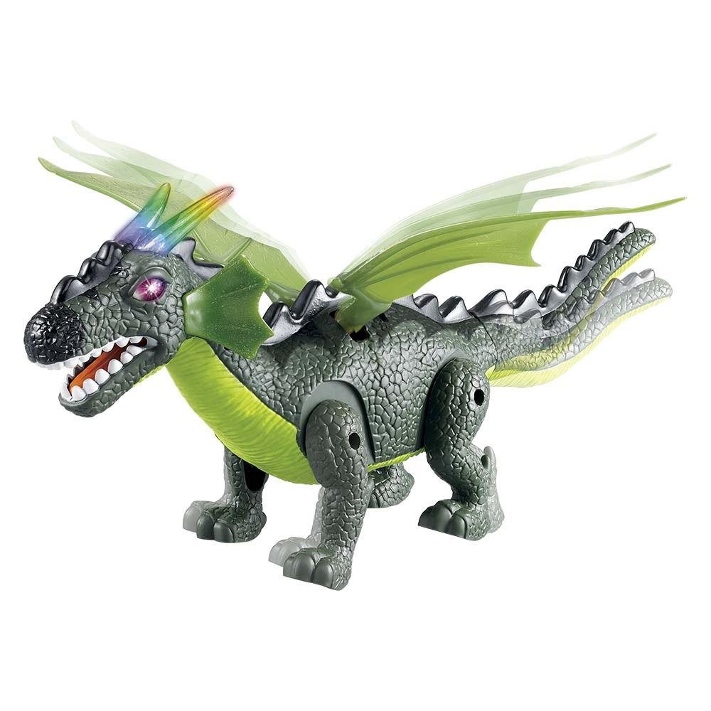 Dinossauro Dragossauro com Luz, Som e Movimento - Dm Toys