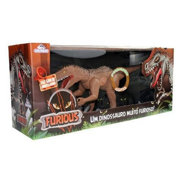 Dinossauro Furious com Som - Adijomar