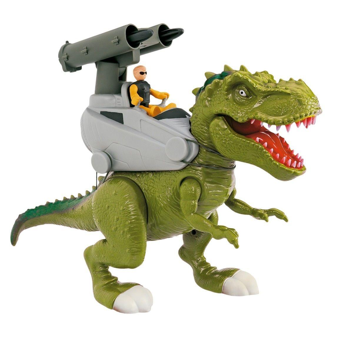 Dinossauro Rex Attack Lança Míssil - Adijomar - Loja Brinquedos - Há ... ae59f8b0a5783