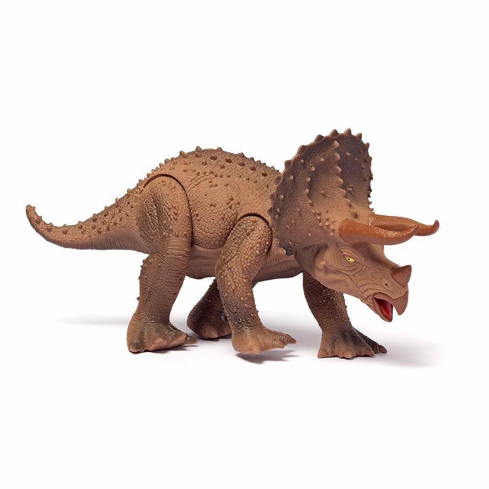Dinossauro Triceratops Dino World - Cotiplás