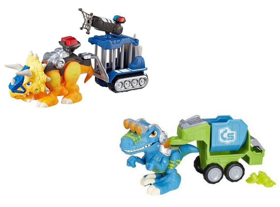 Dinossauros Chomp Squad Playskool com Luz e Som - Hasbro