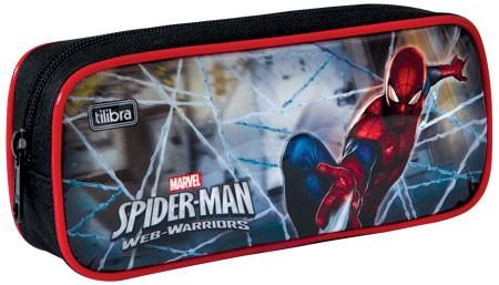 Estojo Escolar Grande Ultimate Spider Man - Tilibra