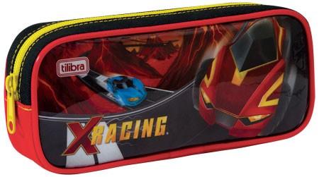 Estojo Escolar Grande X-Racing - Tilibra
