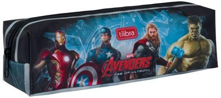 Estojo Escolar Médio Avengers Age Of Ultron - Tilibra