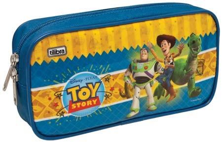 Estojo Escolar Único Grande Toy Story Disney - Tilibra