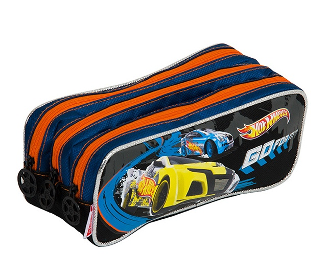 Estojo Hot Wheels 3 Divosões -  Sestini