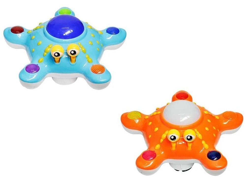 Estrela Lalá Bate e Volta com Luz e Som - Dm Toys