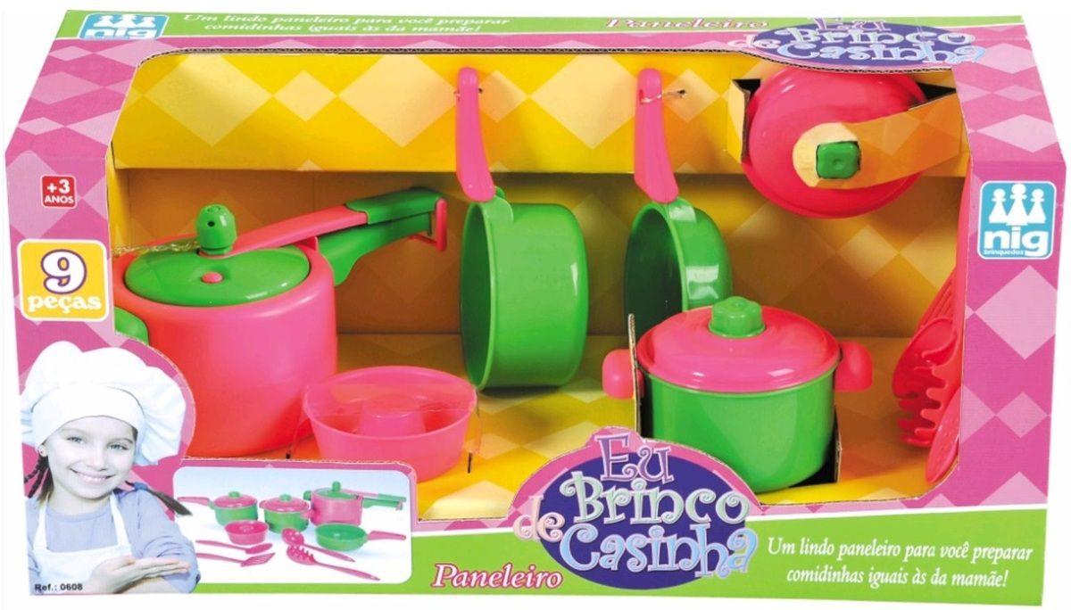 Eu brinco de Casinha Paneleiro - Nig Brinquedos