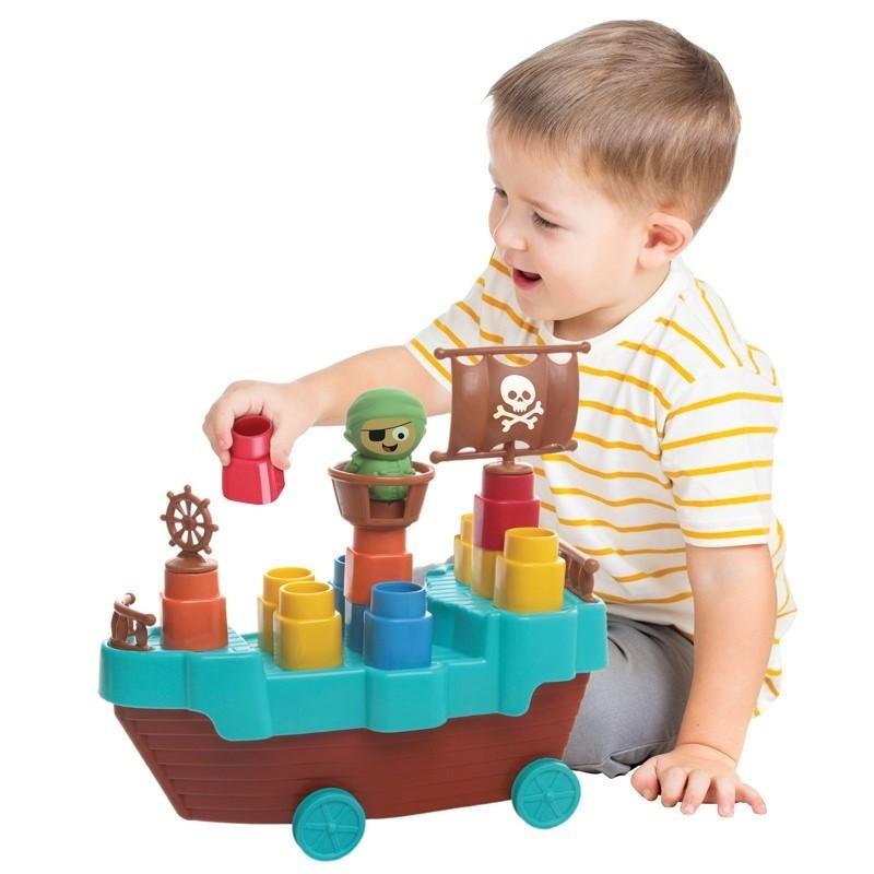 Fofo Blocos Barco Pirata - Elka
