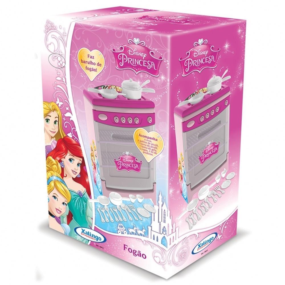 Fogão De Brinquedo 4 Bocas Disney Princess - Xalingo