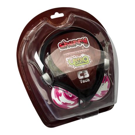 Fone de Ouvido Headfone Cherry Linha Young - C3 Tech