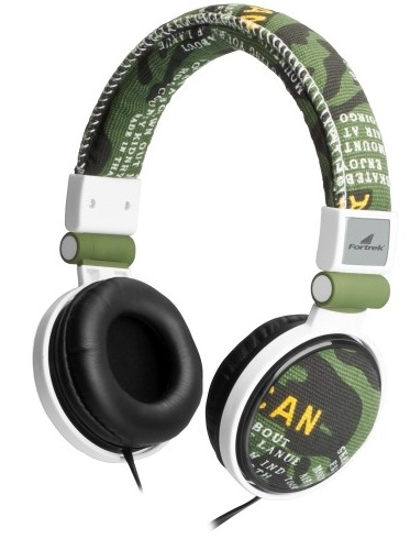 Fone de Ouvido Headphone Radical Army MS5102 Camuflado - Fortrek