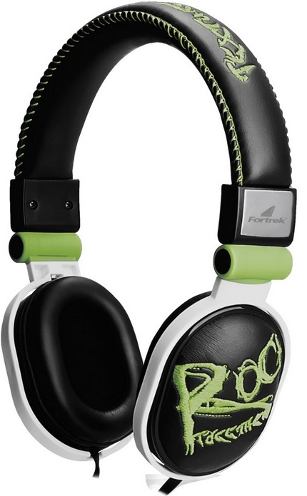Fone de Ouvido Headphone Rock Beats HP-603GR Verde - Fortrek