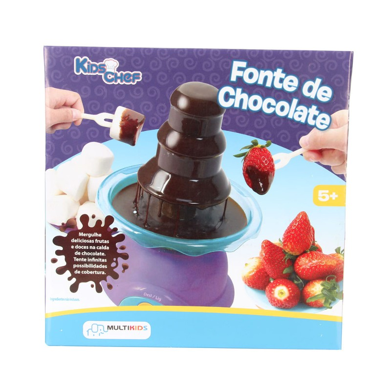 Fonte de Chocolate Kids Chef - Multikids