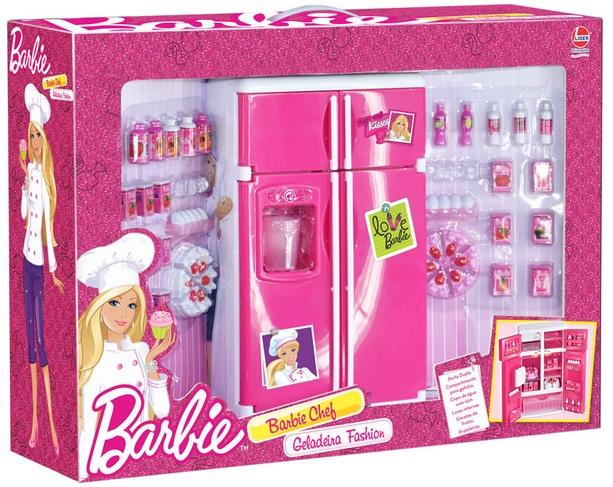 Geladeira Fashion Barbie Chef - Lider