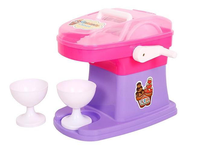Máquina de Sorvete Gelateria - Rosa e Roxa/ Roxa e Rosa - Calesita