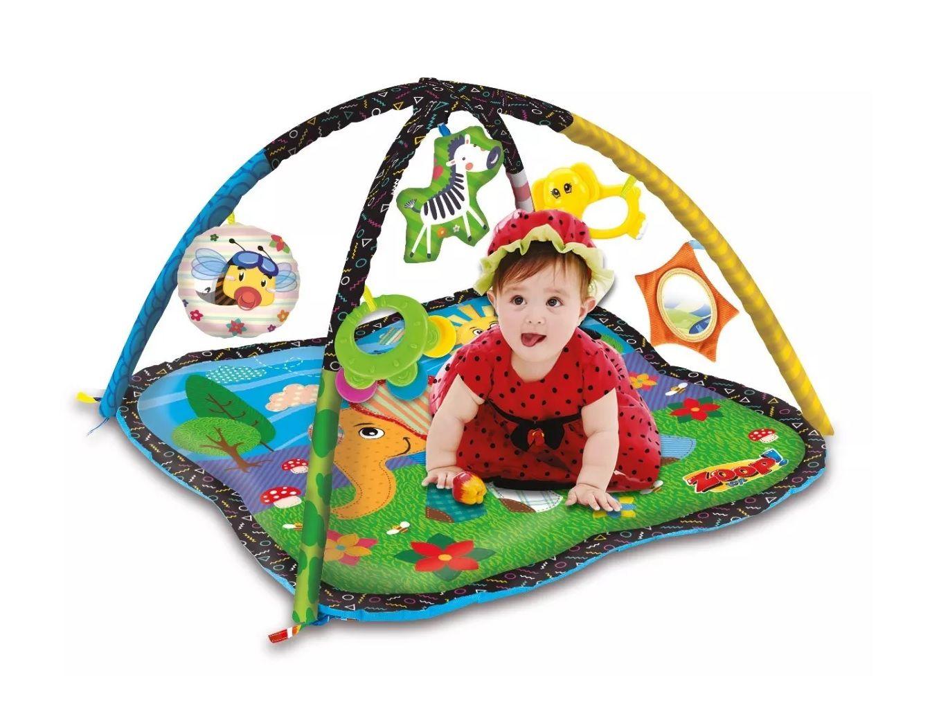 Ginásio de Atividades Zoop Primeiros Passos Menina - Zoop Toys