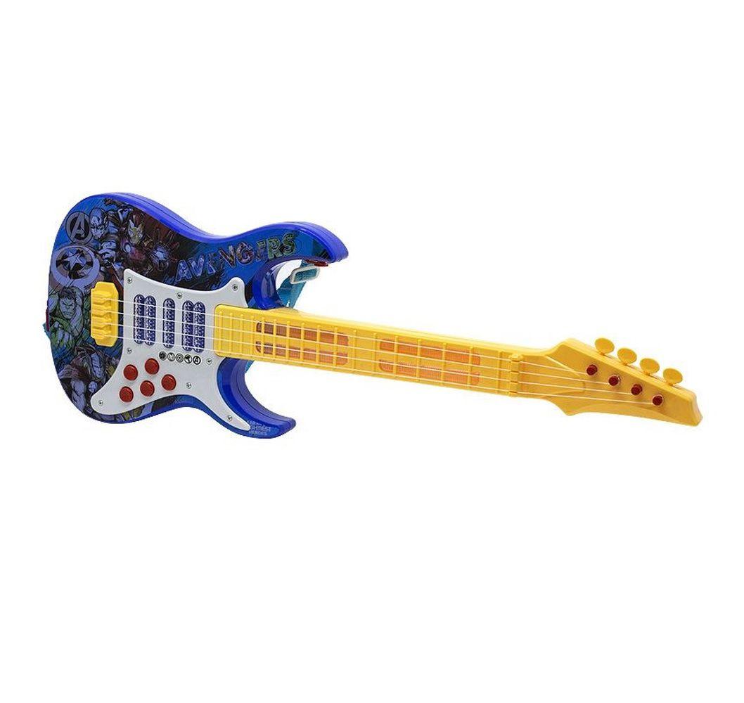 Guitarra Elétrica Infantil Marvel Avengers com Luz e Som - Toyng