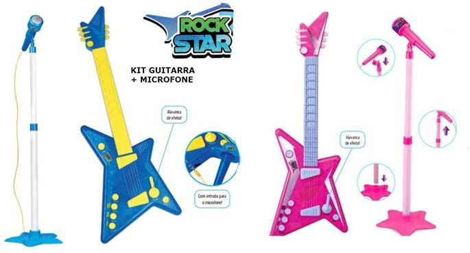 Guitarra Rock Star com Som - Zoop Toys