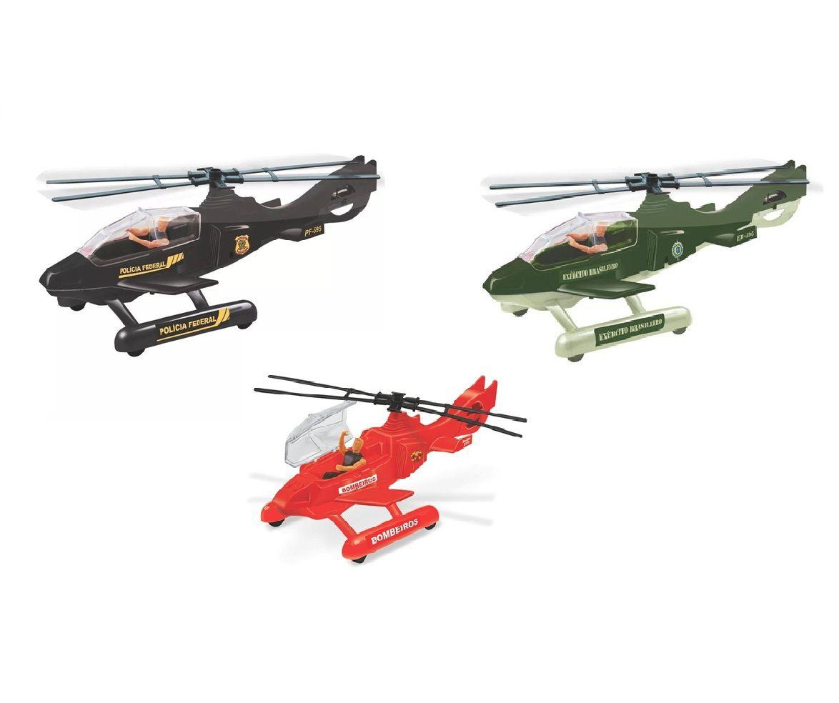 Helicóptero com Boneco - Lider Brinquedos