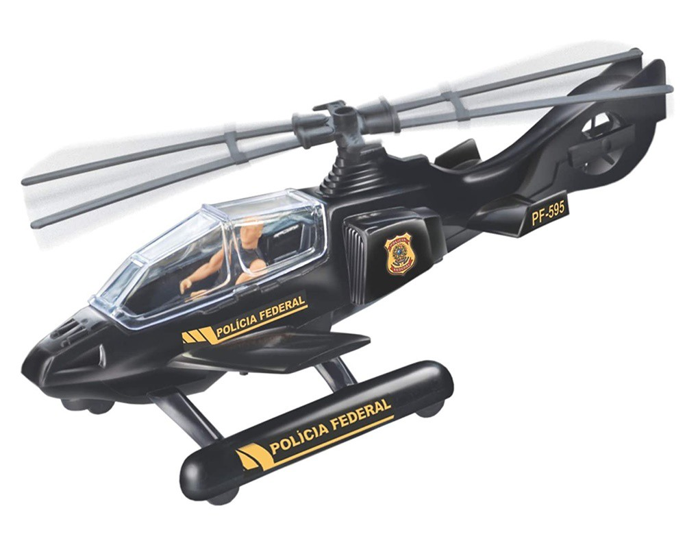 Helicóptero Lider com Boneco - Lider Brinquedos